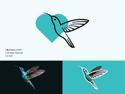Hummingbird Line Art logo Idea line art mark symbol vector colibri logos simple hummingbird animal bird humming bird creative minimal lines abstract identity inspirations awesome design logo