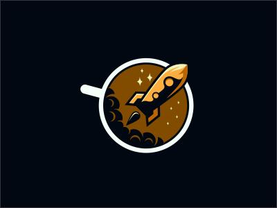 Coffee Rocket Astronaut astronaut rocket coffee