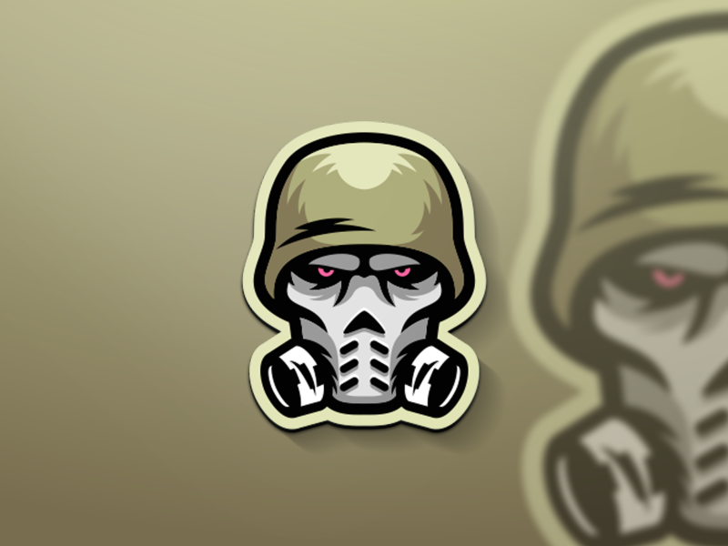 Skull mask brand new inspirations designs design logo mask skull
