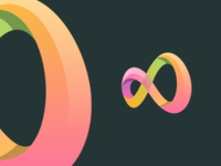 infinity color Logo idea