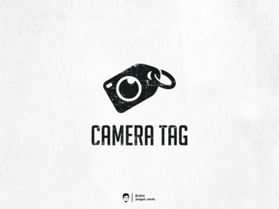 Camera Tag logo design vintage awesome design brandidentity brand tag design inspirations inspiration camera logo camera tag