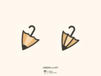 Umbrella Art logo design