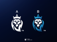 Lion Esport logo design