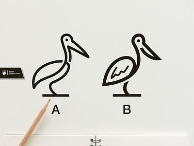 Pelican Line Art Logo Design pelicans pelican lineart bird designs esport idea nice art brand identity branding forsale inspiration brandidentity identity brand inspirations awesome design logo