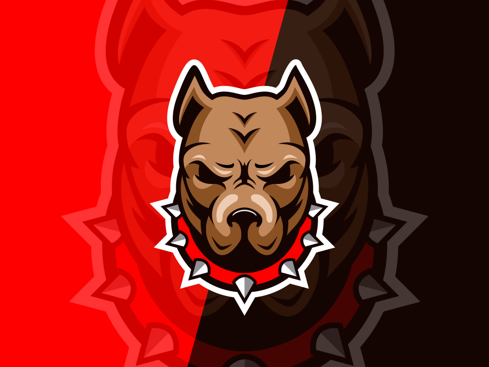 Dog Logo Design dog bull designs esport forsale idea nice brand identity branding art inspiration brandidentity identity brand inspirations awesome design logo