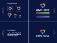 LoveHouse Logo Design