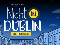 Night In Dublin Font