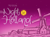 Night In Holland Font