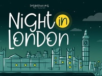 Night In London Font