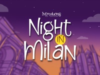 Night In Milan Font