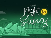 Night In Sidney Font