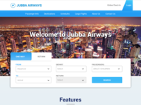 Jubba Airways Re-Design