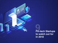Fintech Startup Poster