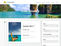 Web Version: Customise your travel