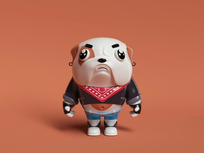 MesoZoo Wars  ⸺  Pug app illustration dribbble design ui web otoy octanerender octane cinema4d characters design characters character animation character design characterdesign character