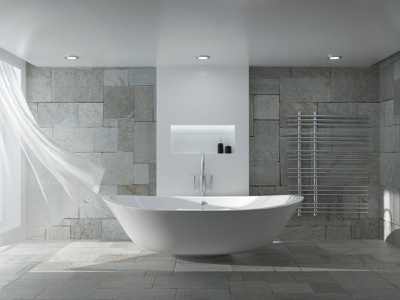 Interior Bathroom in Octane Render visualization 3d octane render octanerender octane