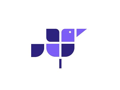 Bird Logo vector 2021 vector logo dribbble best shot design illustration branding icon 2021 logo 2021 logos bird logos bird icon bird logo
