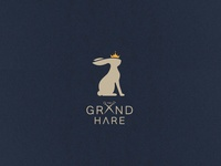 THE GRAND HARE LOGO