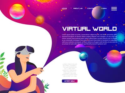 VIRTUAL WORLD WEBSITE