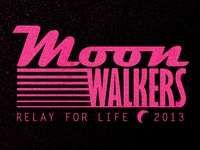 Moonwalkers-  Relay for Life t-shirt