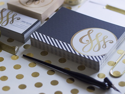 Personal Identity Thank You Card
