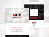 Mad Girl Marketing Landing Page