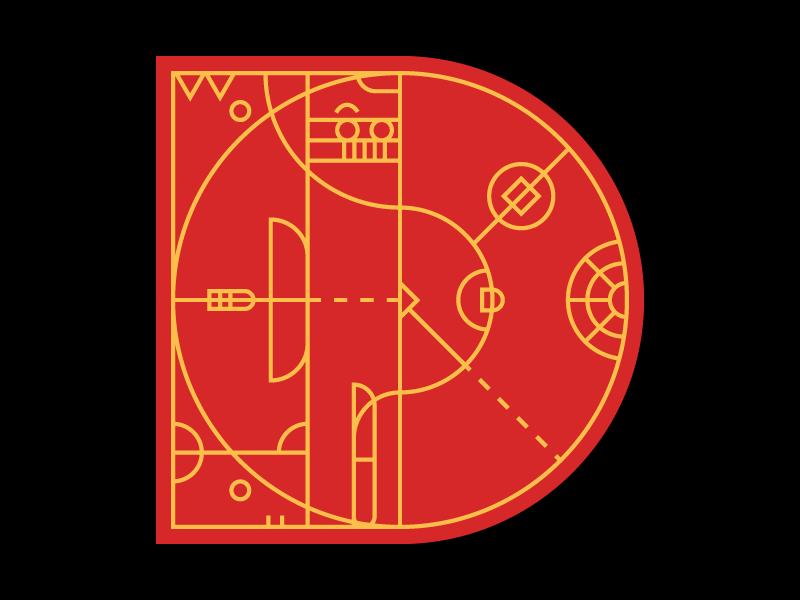 D-36DAYSofTYPE 2d art typography 36days-d 36daysoftype letterforms simple flat vector black illustration adobe illustrator