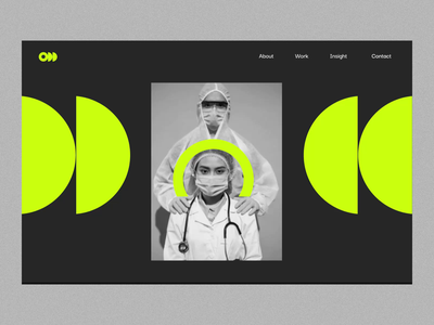 ODD Creative - Empower brands to impact social issues doctor covid social impact website creative agency scroll triggered website scrolling website interaction website design ui design
