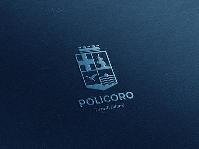 Policoro | Terra di culture brand design brand rebranding logo design logo
