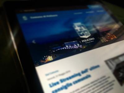 City Branding - UI Design website branding ui design ux design