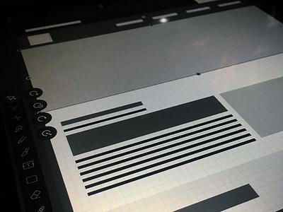 City Branding - Wireframe bootstrap ipad affinity designer website ui design ux design branding wireframe