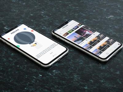 Feelike - UI Design