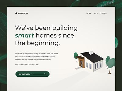 Update :: Modern Homes minimal sustainable cinema 4d rendering 3d modern smart house home visual design