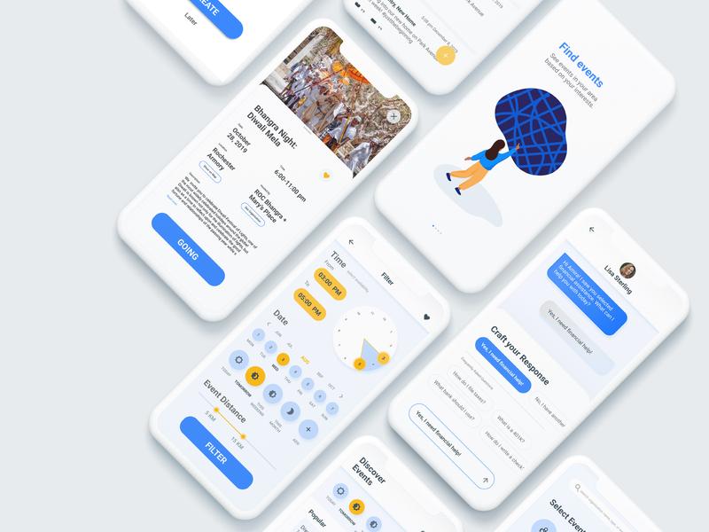 Ally: an app for refugees interface design graphic direction experience design ux mobile debut branding ui illustration visual design design app design product design app