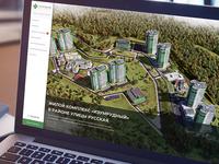 Real Estate promo website