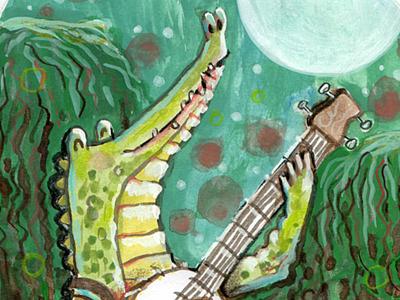Gater Banjo Moonlight