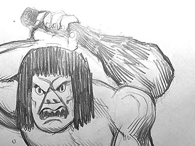 unfrozen caveman sketch caveman sketch scooby doo villain