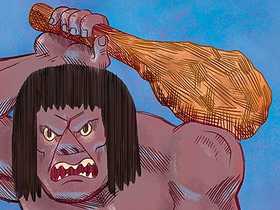 Caveman scooby doo villain caveman frozen unfrozen