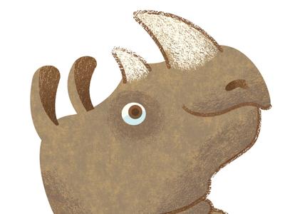 Crocodile Creek- Rhino rhino rhinoceros