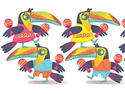 Toucans toucan maraca