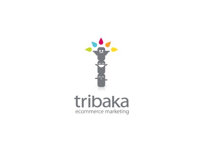 Tribaka ecommerce marketing logo design mascot design vector logo illustrator branding