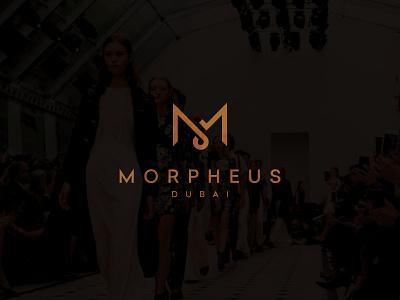 Morpheus Dubai store clothes luxe luxury shop shopping ecommerce logo design vector illustrator logo branding