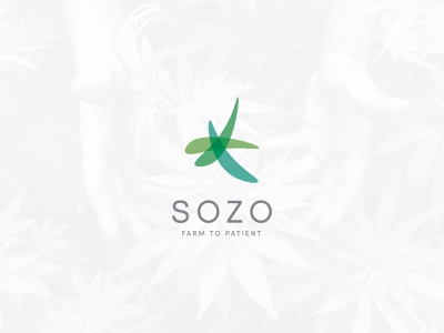 Sozo medical medecine farmer farm cannabis cdb design vector logo design logo illustrator branding