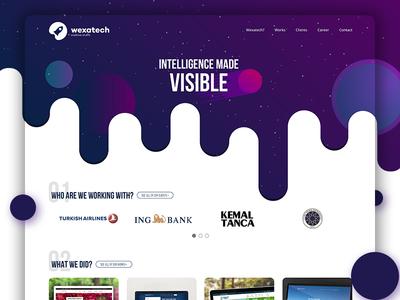 Wexatech Digital Agency UI