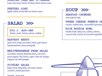 blueprint menu