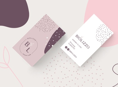 Biolizzo purple vegan beauty branding