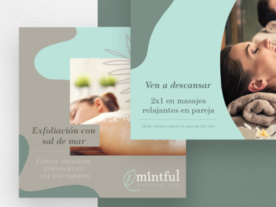 Mintful spa massages mint mintful social media