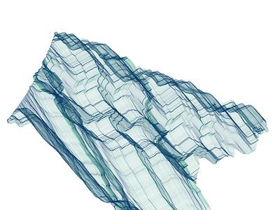 Generative Art using Wind Turbine Data data generative d3.js