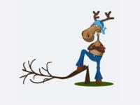 Smoking Elk