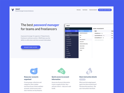 Hypervault -  Password & Account Manager for teams
